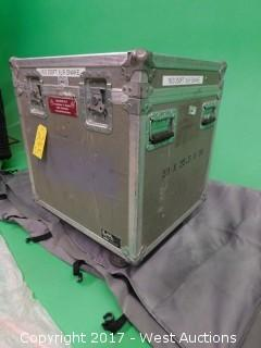 Conquest 250' 16/3-Pin XLR Snake Distributor and Road Case