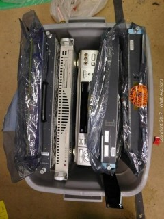 Tub of Electronics: Samsung Video Cassette, Supermicro, Server Rack Fan System