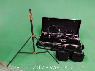 (3) Piece Lower Lighting Set with Accessories