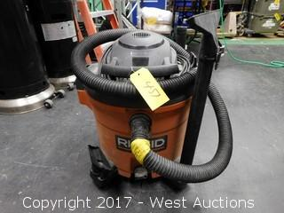 Ridgid Shop Vac with Hose and Attachments