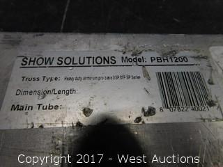 Show Solutions Model PBH1200 Truss Base