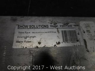 Show Solutions Model PBH1200 Truss Base