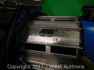 (2) Arri 300 Lights and (2) 650 Lights