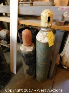(2) Acetylene Tanks