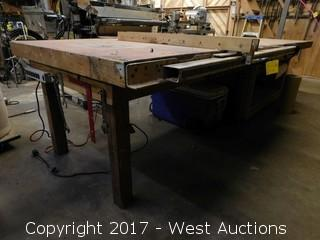 4'x11' Table with T-Square