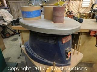 Ryobi Tabletop Sander with Cart