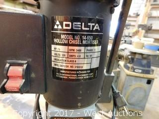 Delta 14-650 Hollow Chisel Mortiser