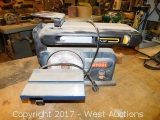 "Ryobi BD 4600 4""x6"" Belt and Disc Sander"