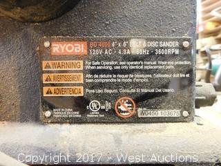 "Ryobi BD 4600 4""x6"" Belt and Disc Sander"