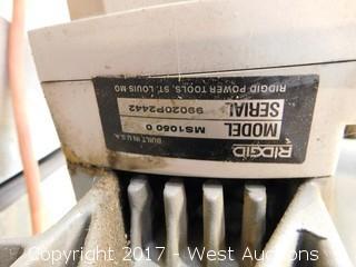 "Ridgid MS1060 10"" Miter Saw"