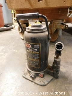 20-Ton Hydraulic Bottle Jack
