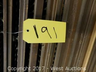 Lot of (55+) Wood Louvered Window Shutters