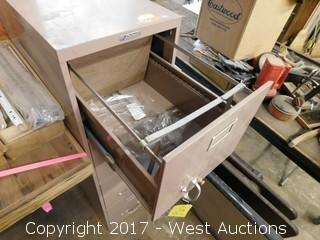 Steelmaster Four Drawer File Cabinet