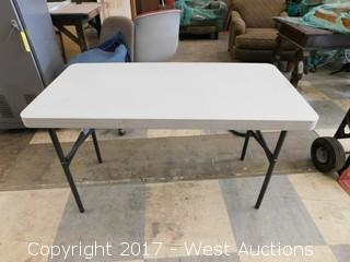 Lifetime Folding Table - 4'x2'