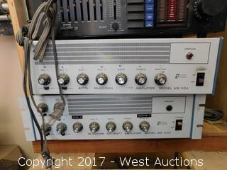 Lot of Sound Equipment