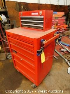 (2)  Craftsman Toolboxes Full of Tools