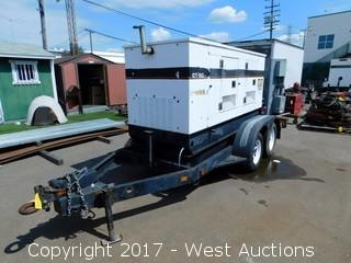 Generac CT-60 Trailer Mounted Diesel Generator