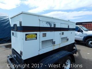 Generac CT-60 Trailer Mounted Diesel Generator