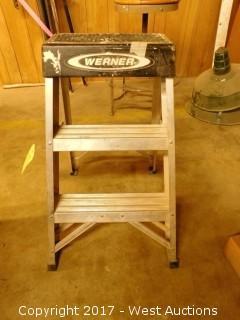 """Werner 26"""" Aluminum Ladder"""