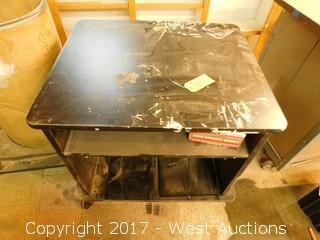 """Rolling Desk 29 1/2"""" x 35"""""""