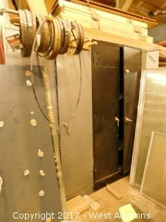 (2) Steel Cabinets