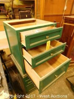(2) Wooden Dressers