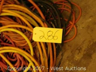 Lot of 3-Phase/1-Phase Electrical Cords