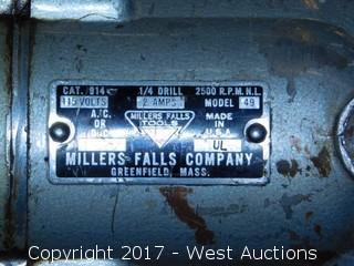 """Miller Falls 1/4"""" Drill"""