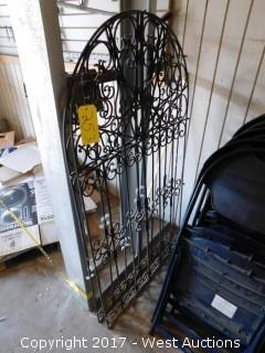 (2) Decorative Steel Gates