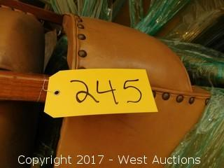 (3) Antique Wooden Chairs