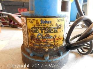 Simer 2000 Geyser3 Pump