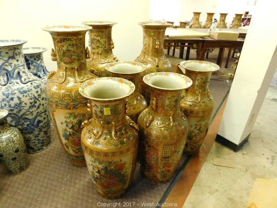 Auction #2: Complete Sellout of Vases from Oriental Shop