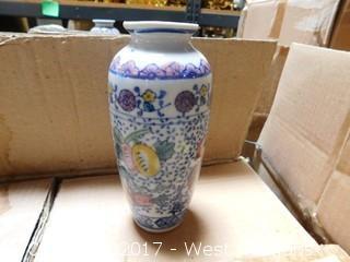 """(48) Oriental Hand Stamped 6"""" Porcelain Vases"""