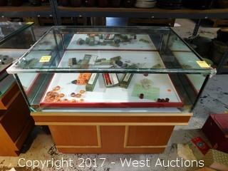 Store Glass Display Case 2.5' x 22""