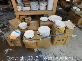 (9+) Boxes of Porcelain Dinnerware