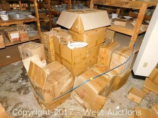 Bulk Lot - (27) Boxes of Porcelain Dinnerware