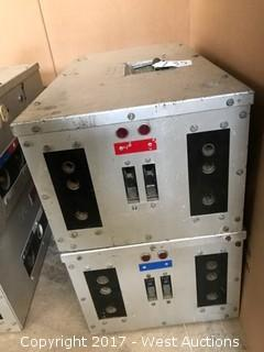 Mole 400A Distro Box (Mole-Pin) (Lot of 2)
