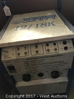 Sunray 12/18K Mag Rolling Ballast