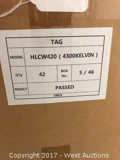 Hollywood Light LED 4ft Tubes (Box of 42)