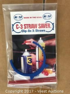 C-3 Straw Saver (Lot of 10 Cases)