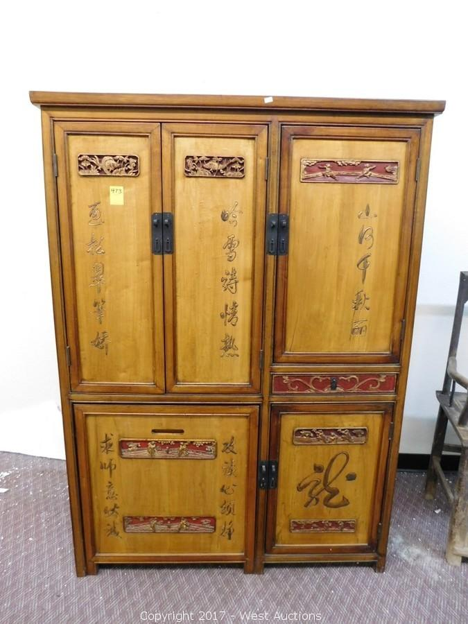 Auction #1: Complete Sellout of Chandeliers and Furniture from Oriental Shop