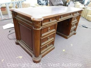 "27""x59""  Executive Style Desk"