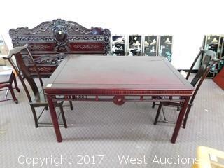 Three Piece Table / Chair Set