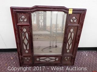 Carved Wood Frame Mirror
