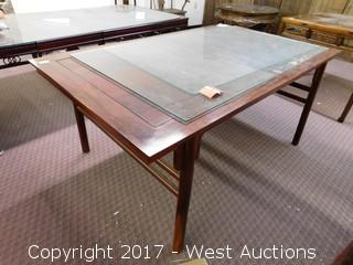 "Wood Dining Table - 31""x44"""