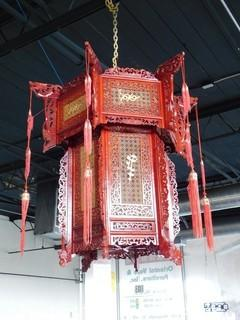 Antique Traditional Chinese Wooden Lantern