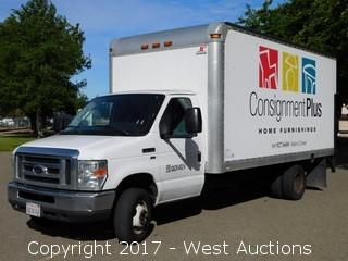 2009 Ford E-350 16' Box Truck with Liftgate