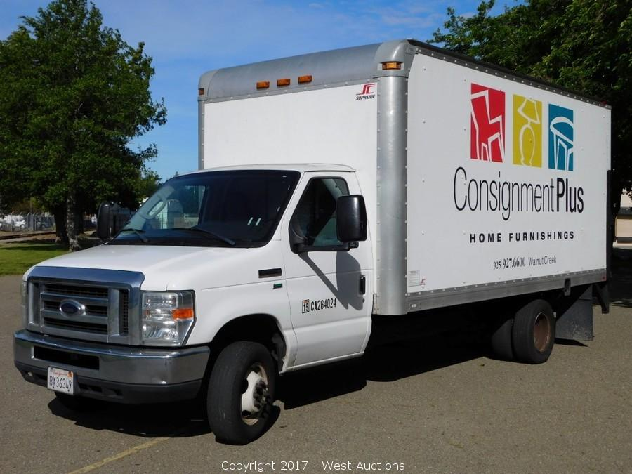 Bankruptcy Auction of 2009 Ford E-350 16' Box Truck with Liftgate