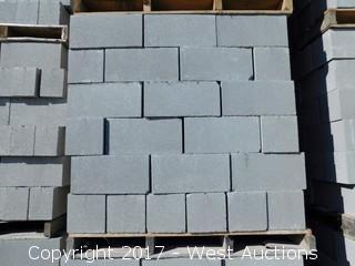 1 Pallet Masonry Block - 8x8x16 STD Precision Grey Lightweight