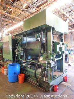 Van Dorn 700 Ton 125 oz Injection Molding Machine with Accessories